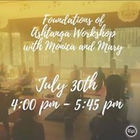 Foundations of Ashtanga Workshop