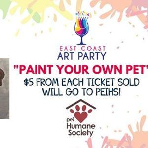 Art Party 0606 - &quotPaint Your Own Pet&quot - Charlottetown