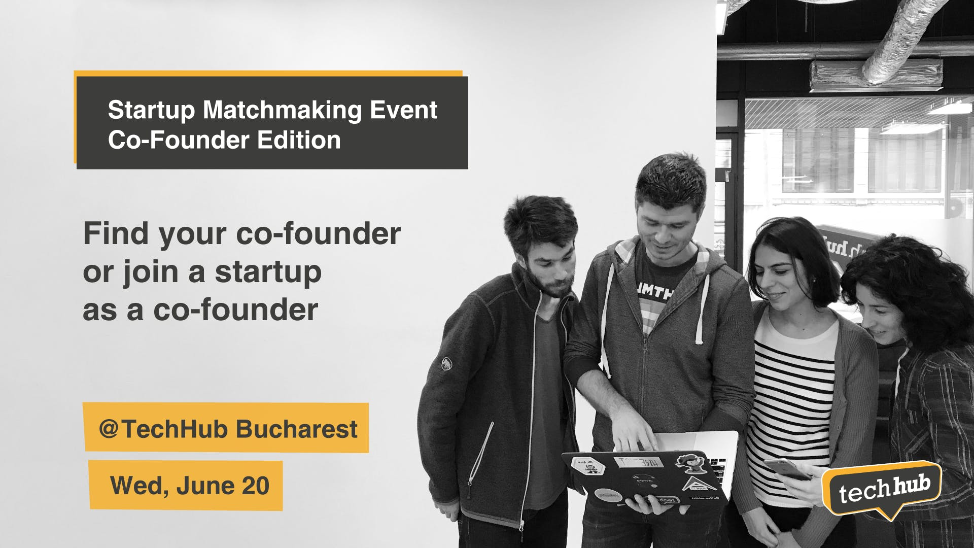 Startup Matchmaking - Co-founder edition