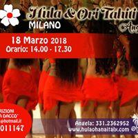 Ori Tahiti a Milano domenica 18 Marzo 2018