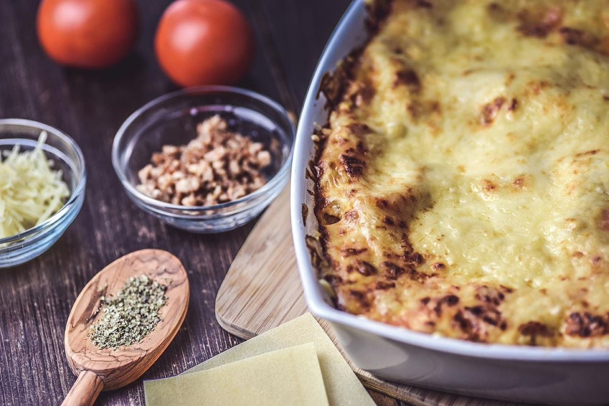 Family Cook  Vegetable Lasagne