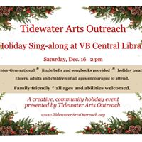 All Ages Holiday Music Sing-along