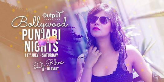 Bollywood & Punjabi Night Ft  DJ Rhea