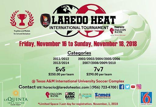 7th Annual Laredo Heat International Tournament