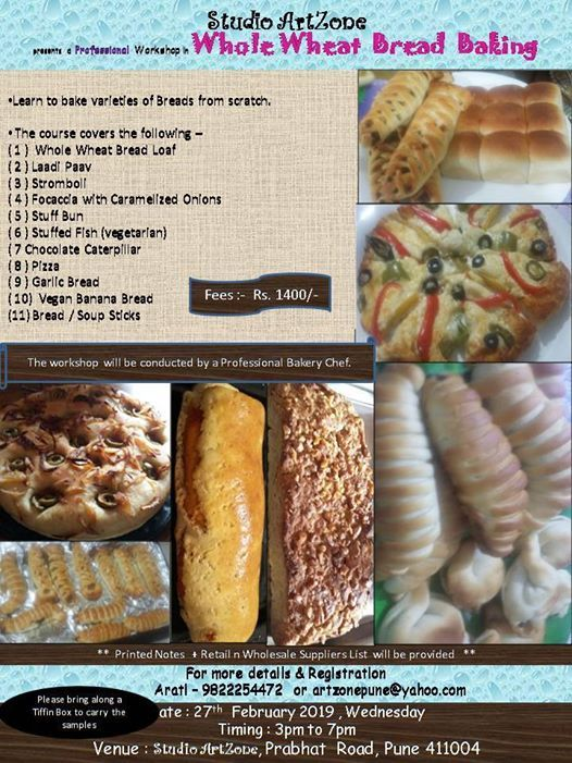 Whole Wheat Bread Baking
