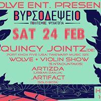 Wolve eNt. Presents Quincy Jointz (DE) Dj Set at Vyrsodepseio