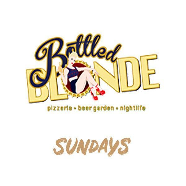 sundays at bottled blonde free guestlist 5 27 2018 chicago