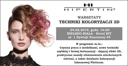 Techniki Koloryzacji 3D 24 luty 2019 Bielsko-Biaa