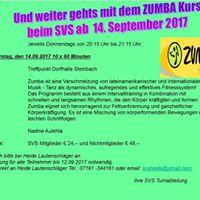 Zumba beim SV Steinbach