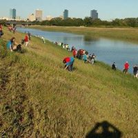 Operation Legacy Service Project at West Fork Trinity River