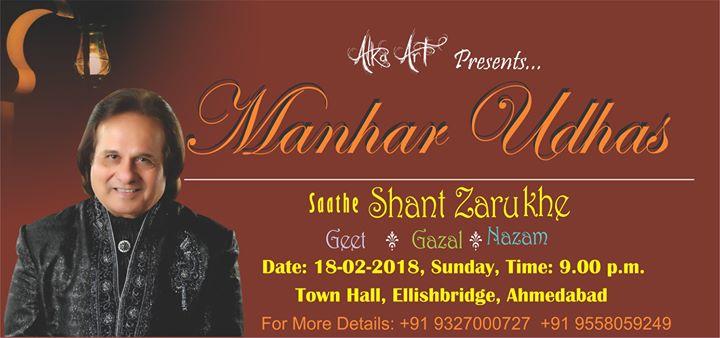 Manhaaaar Udhas Live in Concert