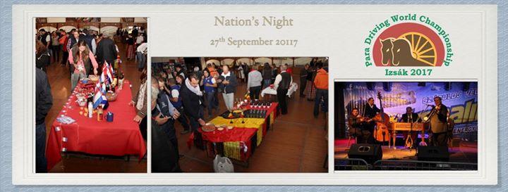 Nations Night - Para Driving World Championship Izsak