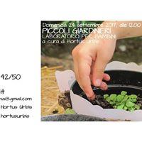 Alle 1200 e alle 1230 - Piccoli giardinieri attivit x bimbi