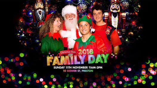 Christmas Elves Family Day 2018