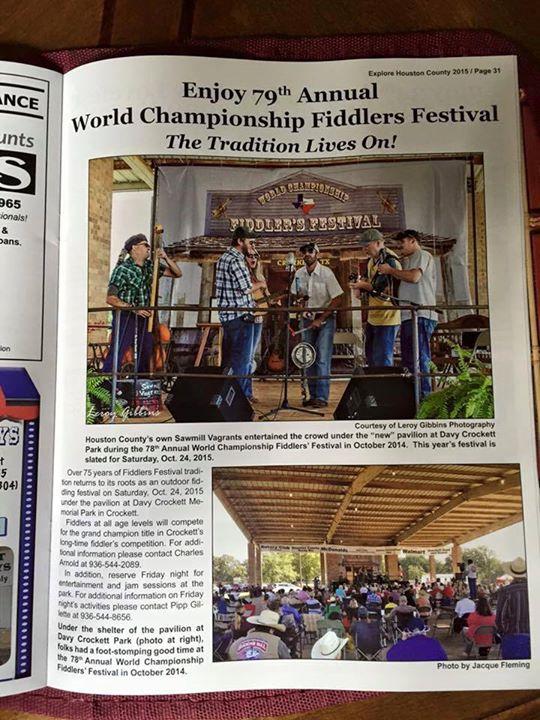 79th Annual World Championship Fiddlers Festival of Crockett Texas