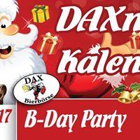 B-Day Party 23 Jahre DAX Bierbrse Braunschweig