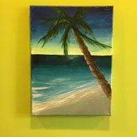 25 Saturday Afternoon Canvas Painting Lesson April 29 1pm