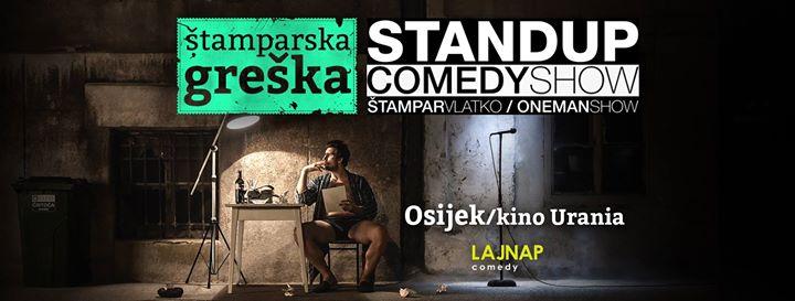 tamparska greka stand up comedy show - Osijek