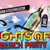 Lights OFF Beach Party  Miskolc