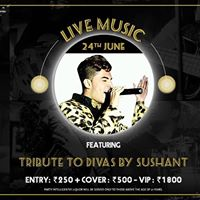 Tribute to Divas by Sushant at Hard Rock Cafe Bengaluru