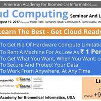 Cloud Computing - Seminar And Live Demo