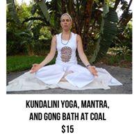 Kundalini yoga mantra and gong