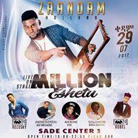 Millon Eshetu LIVE IN Concert - SAT 29.07.2017  Zaandam
