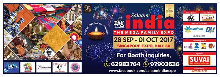 Zak Salaam India Expo 21st Edition Deepavali Special