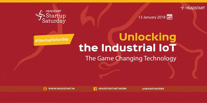 Unlocking the Industrial IoT - Startup Saturday
