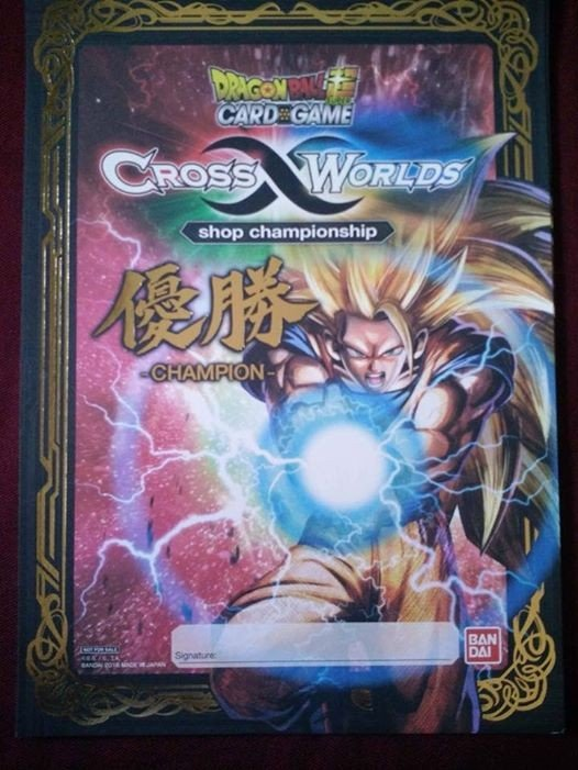 Dragon Ball Super Card Game Cross Worlds Store Championship