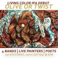 Living Color IPA Release at Olive or Twist