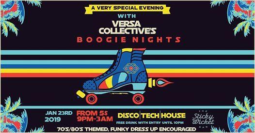 Boogie Nights w VERSA Collective
