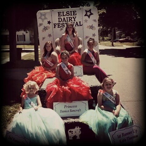 2016 Elsie Dairy Fest Pageant at Ovid-Elsie High School, Elsie