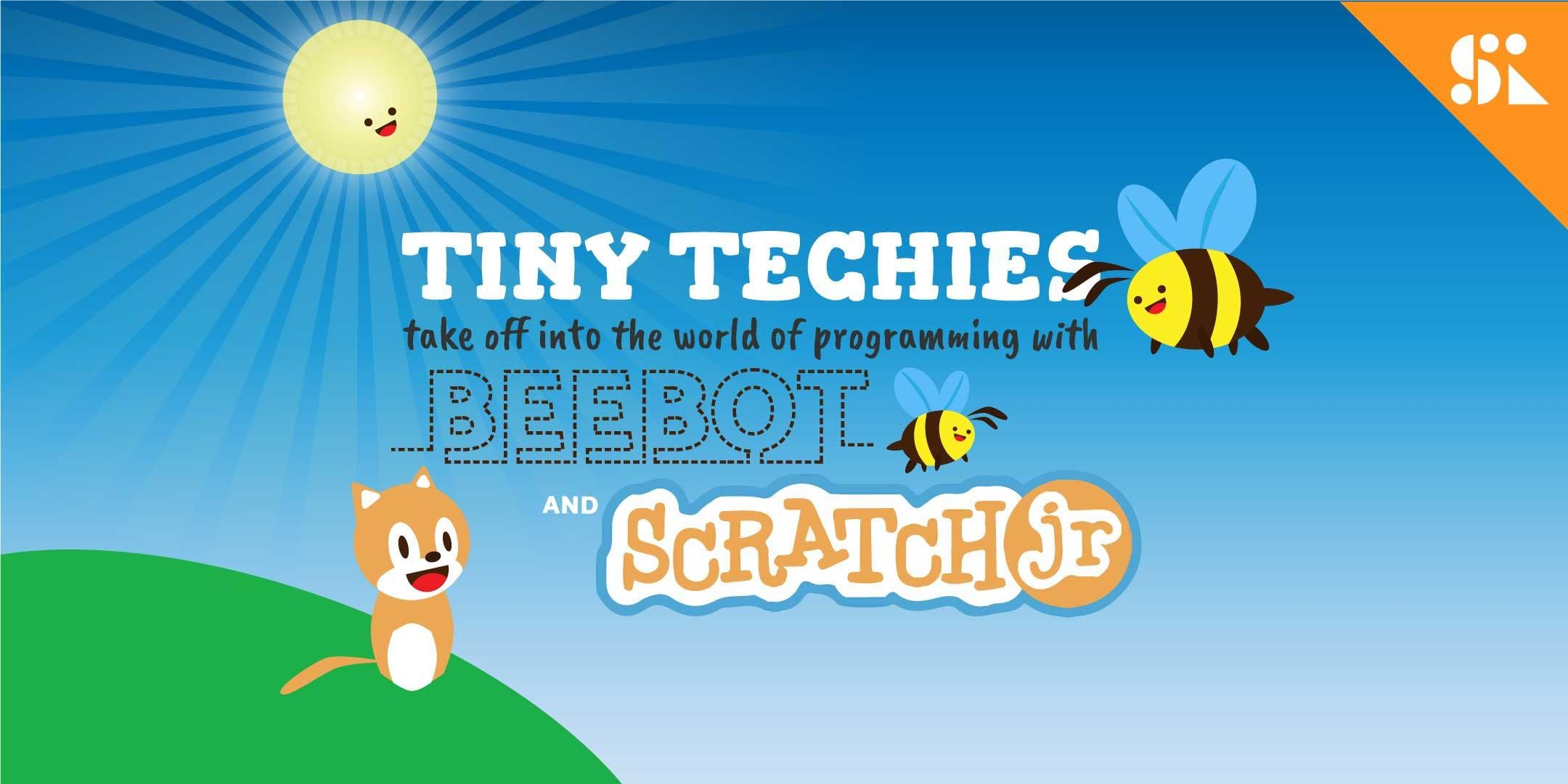 Tiny Techies 1 Take Off with Beebot & Scratch Junior [Ages 5-6] 4 Jul - 29 Aug (Wed 430PM)  East Coast
