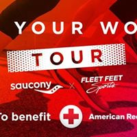 Run Your World Tour to benefit American Red Cross