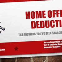 Home Office Deduction - THE ANSWERS YOUVE BEEN SEARCHING FOR