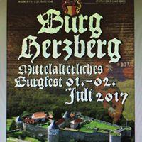 Burgfest auf Herzberg