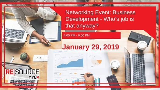 Networking Event Business Development -Whos job is that anyway