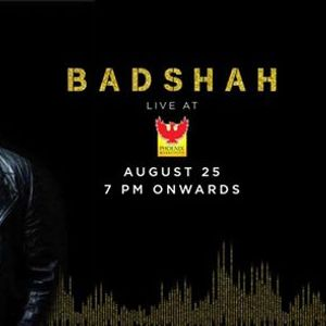 Badshah live at PMCC