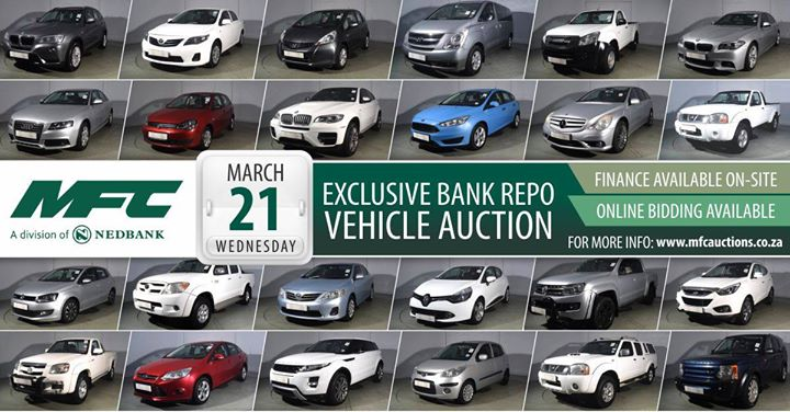 Mfc Jhb Bank Repo Vehicle Auction At Aucor Auctioneers Centurion