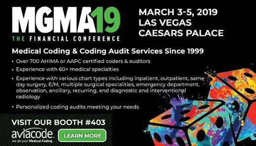 Mgma19 | The Financial Conference - Aviacode Booth 403 at Caesars
