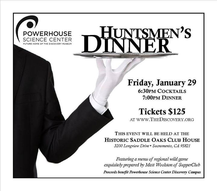 Huntsmens Dinner Fundraiser at Powerhouse Science Center
