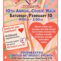 10th Annual Cookie Walk to Support Mid-Hudson Love INC
