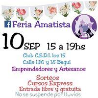 Feria Amatista CEDI los 15