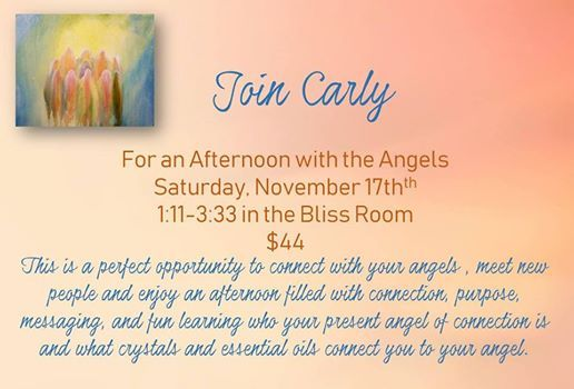 Afternoon with the Angels with Carly