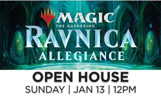 Magic Open House Ravnica Allegiance