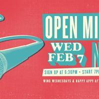 Feb - Open Mic Night