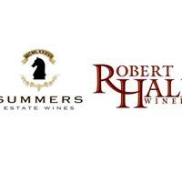 Summers Estate &amp Robert Hall Wine Tasting