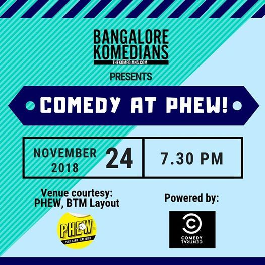 Comedy at PHEW