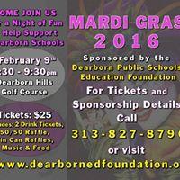 Mardi Gras Celebration Dearborn Education Foundation